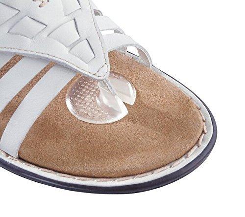 Thong Sandal Toe Protectors 3 Pairs Silicone Flip-Flop Toe Guard Cushions ()