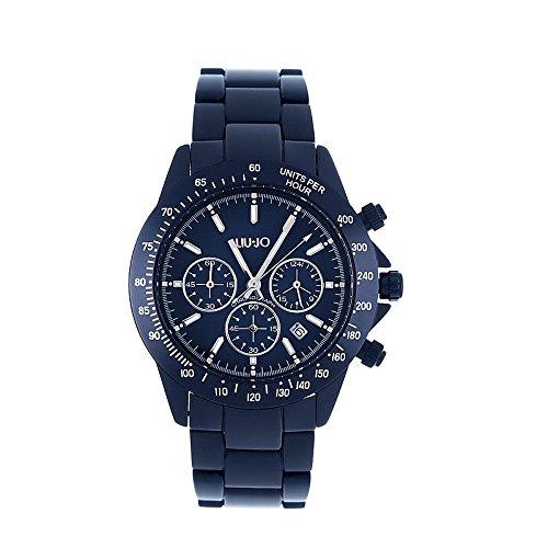 Liu Jo Luxury TLJ193 - Orologio Cronografo da polso donna in alluminio blu a3a6519f1f3