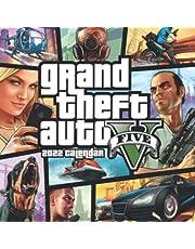 Grand Theft Auto V 2022 Calendar: OFFICIAL game calendar. This incredible cute calendar january 2022 to december 2023 with high quality pictures .Gaming calendar 2021-2022. Calendar video games