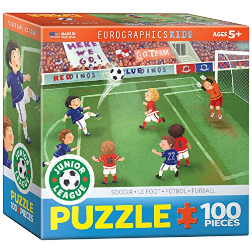 (EuroGraphics Soccer Junior League 60 Piece Puzzle (Small Box) )