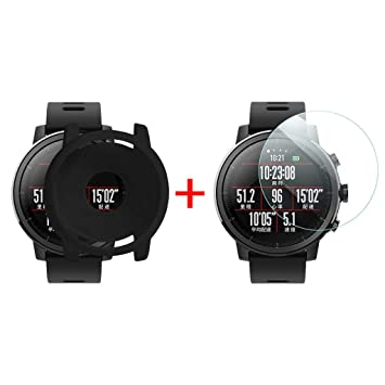 Amazon.com : FewearCase for Xiaomi Huami AMAZFIT 2 Watch ...
