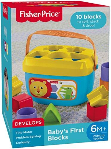 51jrwxERfRL - Fisher-Price Baby's First Blocks Playset