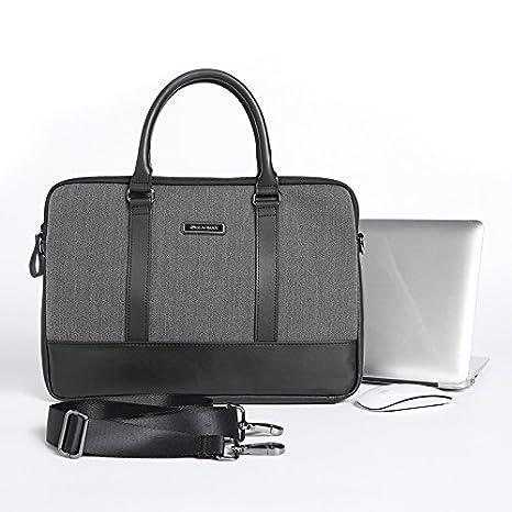 Urcover® Bolsa Laptop 13,3 Pulgadas Folder Almacenamiento con Cierre Lazo Unisex Diseño Clasico Cartera para Documentos A4, Libros, Tablets, ...
