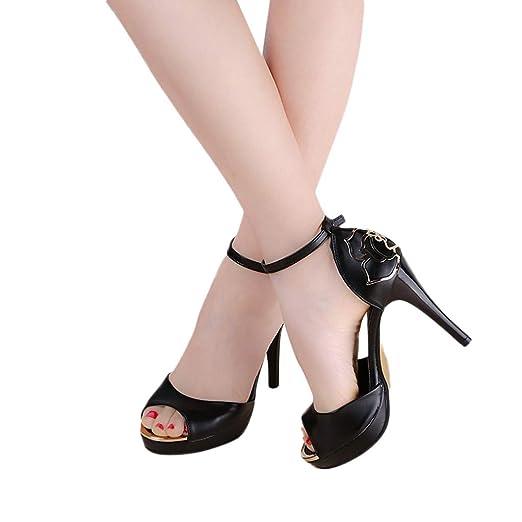 Amazon.com  Women s Sexy Stiletto High Heel Sandal 5a19638651de