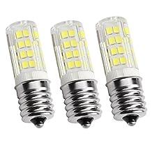 KEEDA E14 LED Bulb, 5W (40W Equivalent), White Light 5000K, Pack of 3 (White)