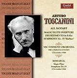 Toscanini Mozart Concert & Rehearsal