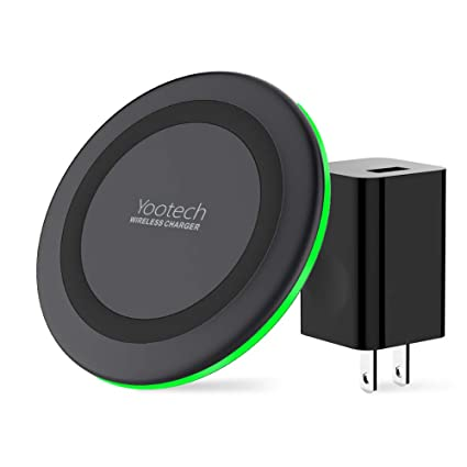 Amazon.com: Yootech Cargador inalámbrico, certificado Qi 10 ...
