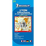 Lyon (Michelin City Plans)