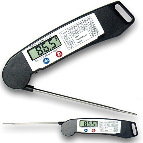 Guaranteed Best Food Thermometer Under $20 on Amazon. Digital Thermometer for Meat, BBQ and Grill.