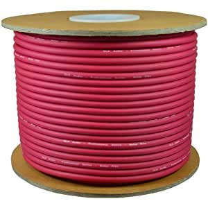 gls audio bulk microphone cable 300 39 red mic 300ft signal mike cable musical. Black Bedroom Furniture Sets. Home Design Ideas