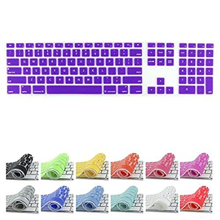 All-inside Ombre Purple Keyboard Cover for iMac Wired USB Keyboard Mmo-PN-329603996