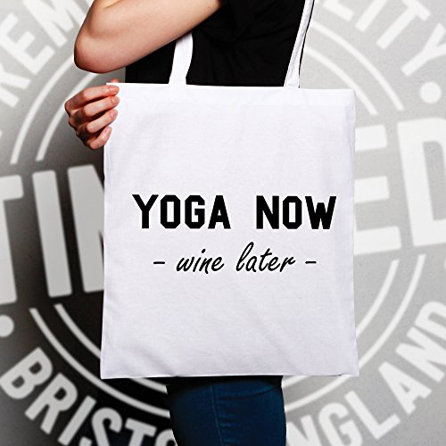 Rosé Evening Drink Healthy Natural Later Keep Fitness Funny Cool Gift Shopping Fit Present Yoga Tote Red Glass Carrier Wine Bag White Alcohol Now Slogan S08wn67q