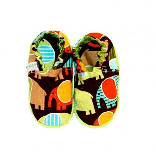 Babyschuhe Krabbelschuhe Erstlingsschuhe Modern Design - Elefant