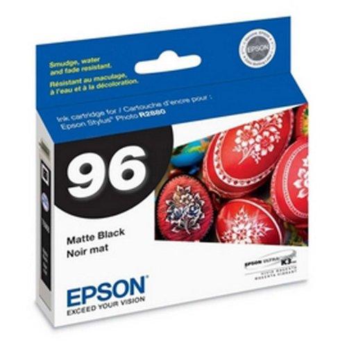 R2880 Matte - OEM Epson 96 T096820 Matte Black UltraChrome K3 Ink Cartridge