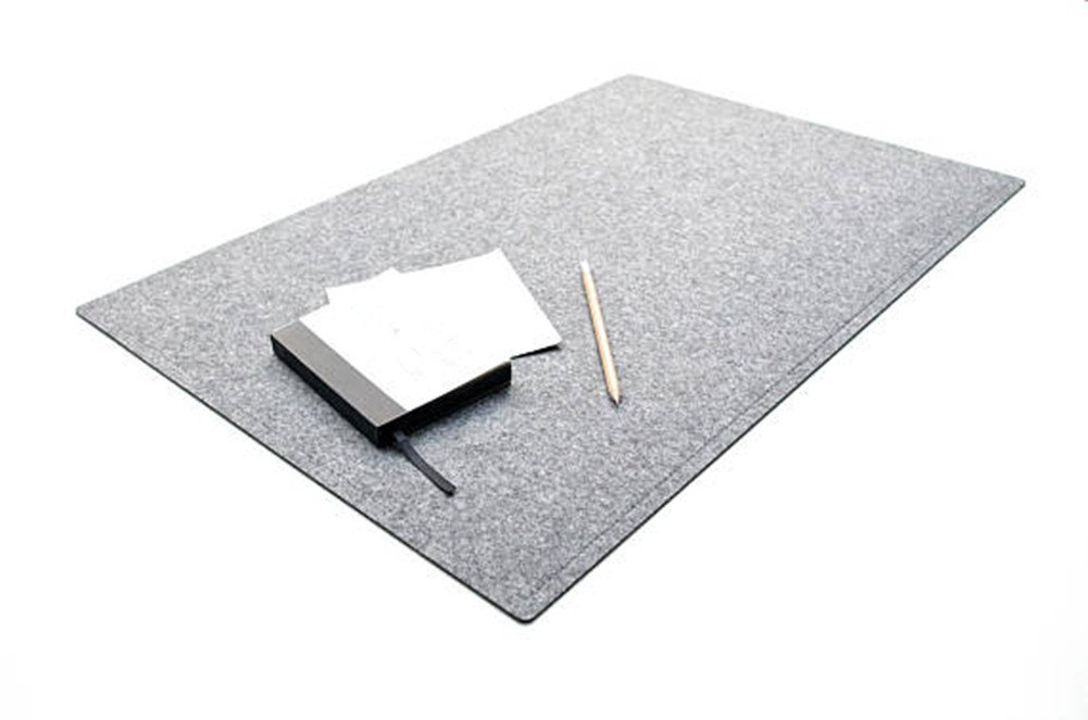 Amazoncom Gray Desk Pad Laptop Mat Desk Mat Mouse Pad Coasters