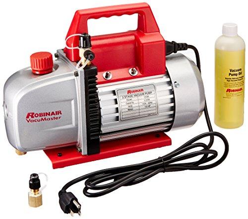Robinair 15300 VacuMaster Economy Vacuum Pump - 2-Stage, 3 CFM (Pump Robinair Vacuum)