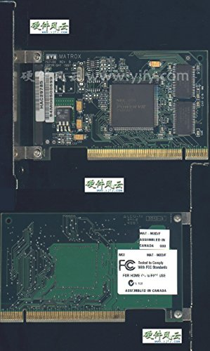 MATROX 837-00 8MB AGP VIDEO CARD WITH VGA -