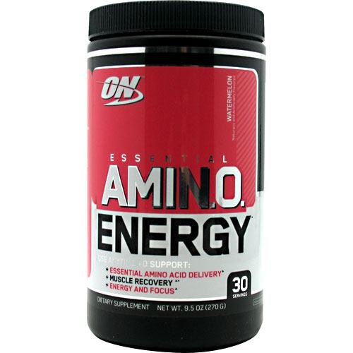 Optimum Nutrition Amino Energy, Watermelon, 9.5 oz