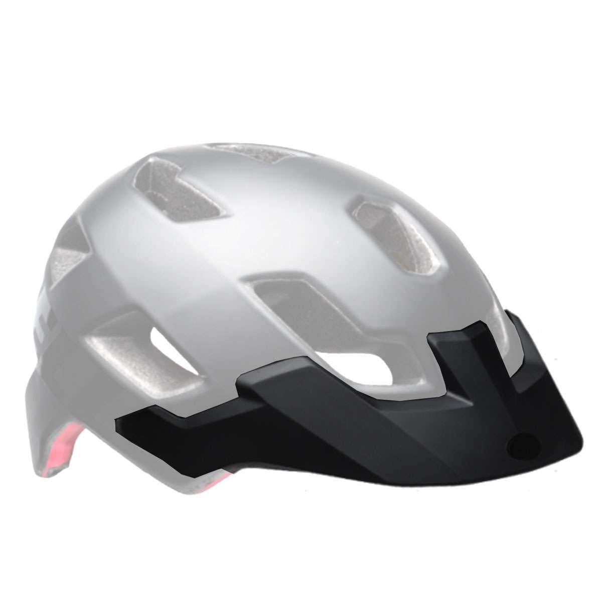 Bell Sports Stoker Helmet - Replacement Visor - Matte Black/Red Aggression - 8047342