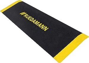 Ruedamann 10 x 32 Inch Portable Threshold Ramp, Aluminum Ramp for Wheelchair,Doorway Access Anti-Slip Surface Wheelchair Ramp(MR807-25)