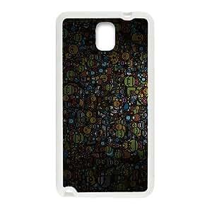 Happy Creative Animals Family Cartoon Custom Protective Hard Phone Cae For Samsung Galaxy Note3