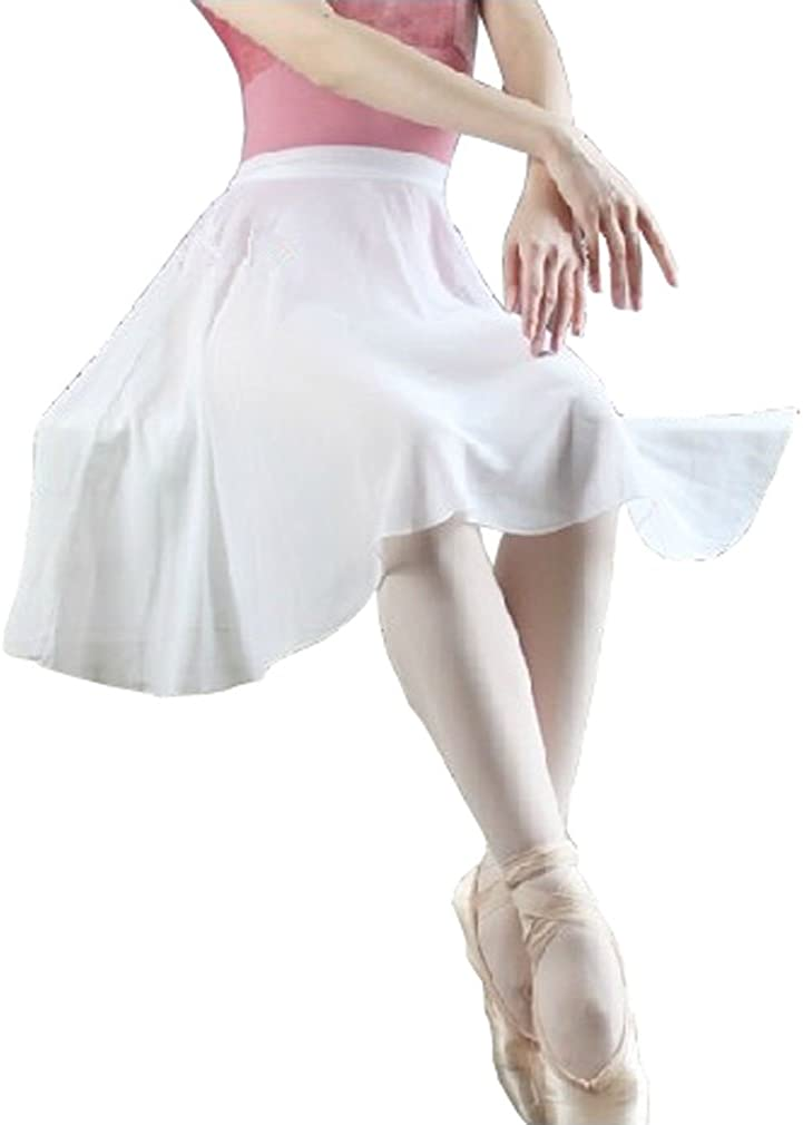 Hoerev adulto envoltura envuelta falda de ballet danza de ballet dancewear