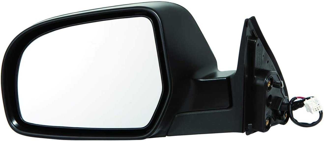 Gold Shrine for Subaru Legacy Power Operated Non-Heated Folding Textured Side Door View Mirror 2012 2013 2014 Driver Left Side Replacement