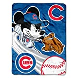 "MLB Chicago Cubs ""Triple Play"" Micro Raschel"