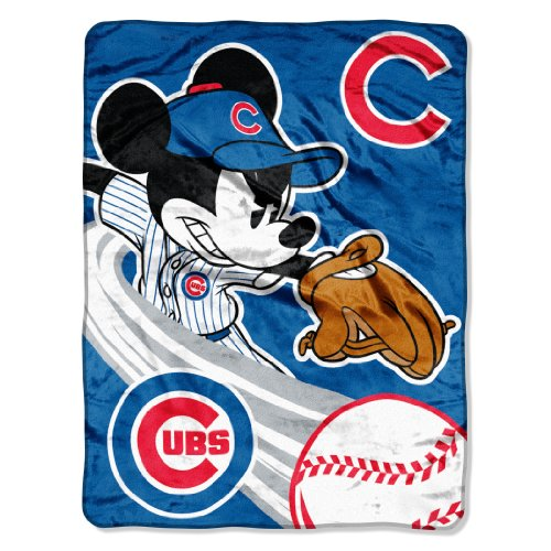 The Northwest Company Officially Licensed MLB Chicago Cubs 46