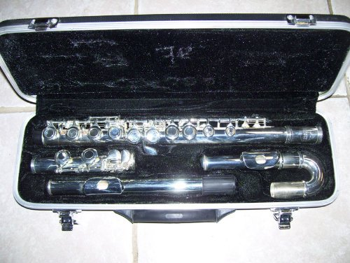 Flute with with two joints