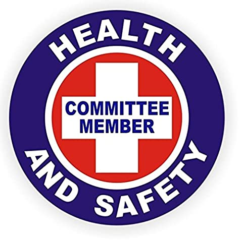 1-Pc Glistening Unique Health And Safety Committee Member Window Stickers Mac Apple Macbook Laptop Luggage Wall Graphics Safe Label Decor Vinyl Art Sticker Decal Patches Size 2
