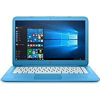 HP Stream - 14-ax010nr 14 Aqua Blue Laptop - Intel Celeron - 4GB RAM - 32GB eMMC (Certified Refurbished)