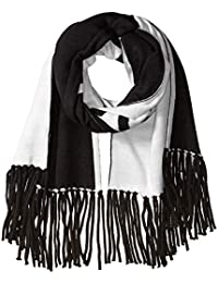 Calvin Klein A8KS4913-001 Bufanda para Mujer, Black, Talla Única