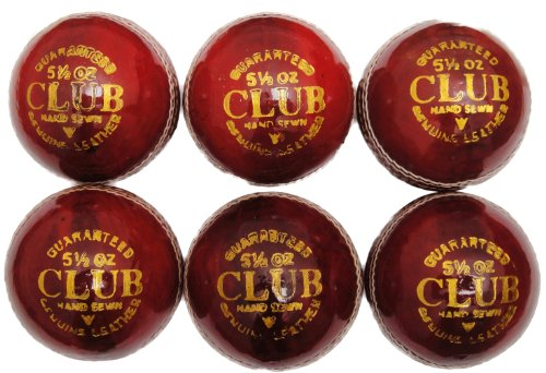 Club Play Leather Cricket Ball product image