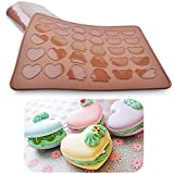 Saasiiyo Bakeware Penguin Bear Heart Macaron Silicone Mat Macaroon Cookie Mold Muffin Baking Tray Baking Sheet DIY Chocolate Pad