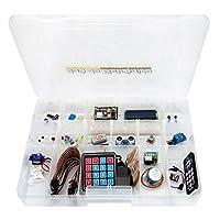 Kit Arduino Avançado C/160pçs + Manual Com 24 Experimentos