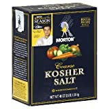 Morton Salt Kosher Salt, 3 lbs