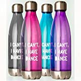 Covet Dance I CAN'T, I HAVE DANCE Water Bottle (Purple)