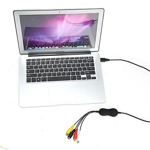 USB 2.0 Video Audio Capture Card Adapter VHS VCR TV to DVD Converter support Window, Mac, Linux by EZ Cap (Image #2)