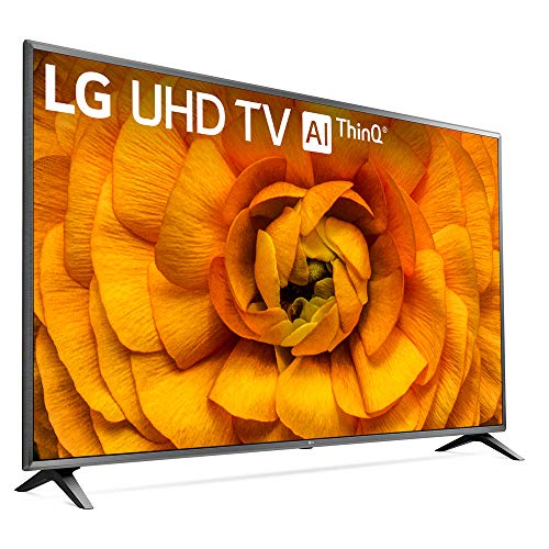 LG 75UN8570PUC 75 inch UHD 4K HDR AI Smart TV 2020 Model Bundle with 1 Year Extended Protection Plan