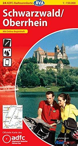 Schwarzwald /Oberrhein (ADFC-Radtourenkarte 1:150000)