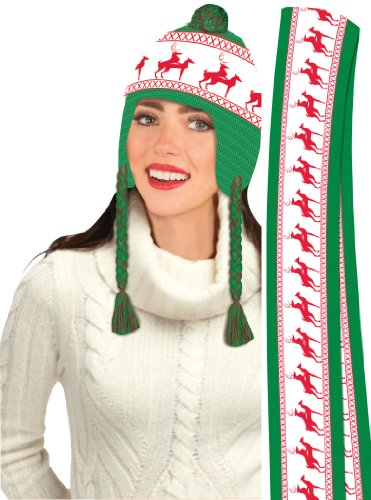 F72354/72355 Reindeer Games X-Rated Hat & Scarf -