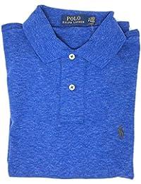 Men's Medium Fit Interlock Polo Shirt-Liquid Blue