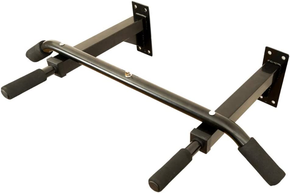 KAI RANGE Wall Mounted Pull Up Bar for Home Gym | Heavy Duty for Indoor & Outdoor Use