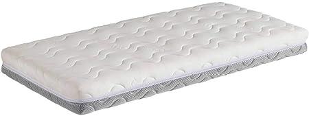 Este colchón de cuna tiene una altura de 12 cm, y un peso de 2.7 kg,La edad recomendada es de entre