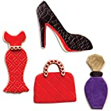 NY Cake Fashionista Cutter Set- Set of Four Cookie Cutters