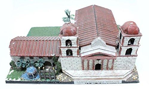 California Mission Model Kit Santa Barbara (Mission Santa)