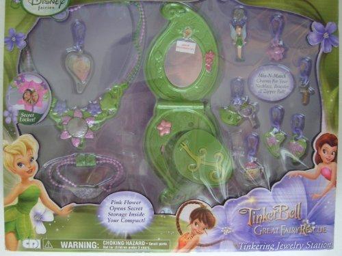 Disney Tinkerbell Tinkering Jewelry Set [Toy]