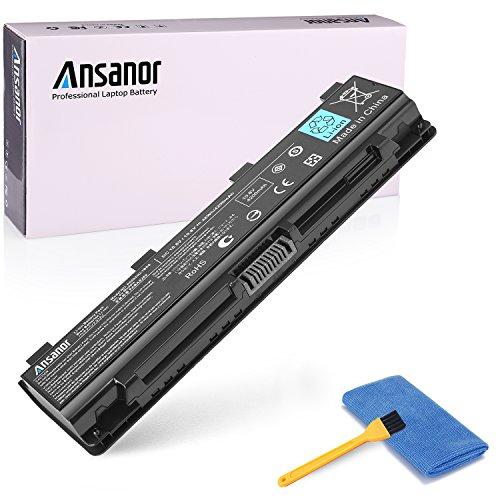 Ansanor High Performance New Laptop Battery for Toshiba PA5024U-1BRS PA5023U-1BRS PA5025U1BRS PA5026U-1BRS PA5027U-1BRS, PABAS259 C800 C845 L835 L850