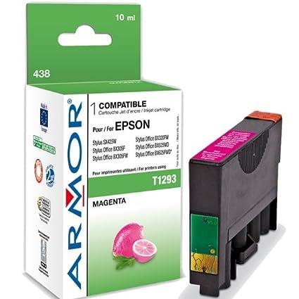 Para Epson Stylus Office BX 925 FWD, tinta XL en magenta Armor ...
